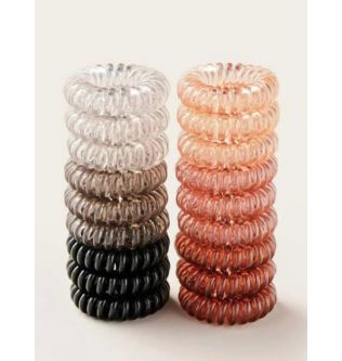 Colored Elastic Hair Bands For Girl