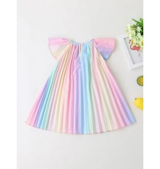 SHEIN Girl Colored Dress