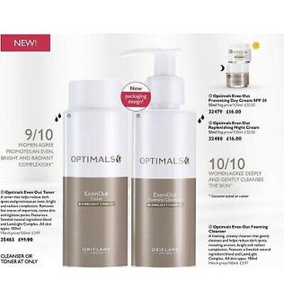 Even Out Foaming Cleanser & Even Out Toner