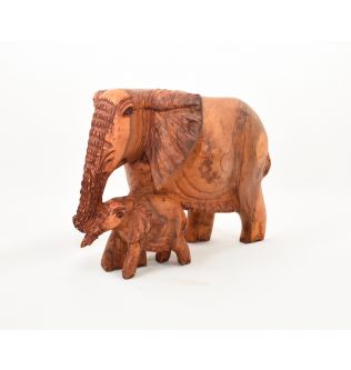 Wooden Figure Elephant