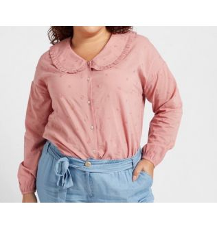 Pink Casual Top for Women