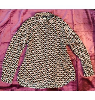 Colorful Pattern Shirt for Women