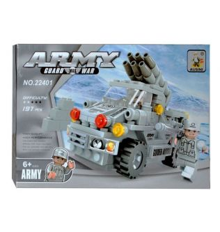 Ausini Army Guard Max War Armored Corps Car Construction Toy For Kids - 200301049