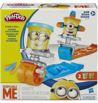 Play-Doh Featuring Despicable Me Minions Stamp and Roll Set - 200301014